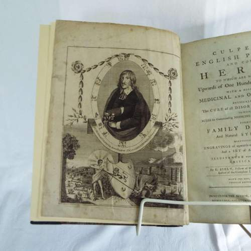 Culpepers English Physician and Complete Herbal 1790s Edition image-3