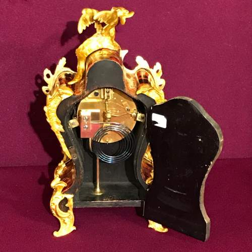French Boulle Mantel Clock image-3