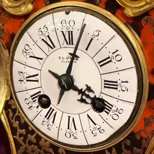 French Boulle Mantel Clock image-4