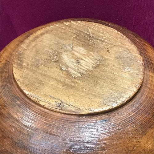 Large 18th Century Sycamore Dairy Bowl image-6