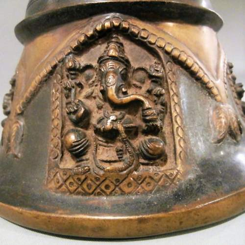 Beautifully Crafted Bronze Brass Temple Bell image-2