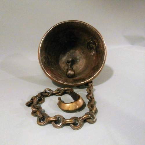 Beautifully Crafted Bronze Brass Temple Bell image-4