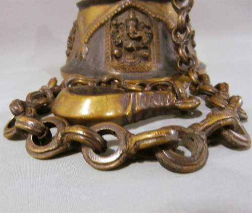 Beautifully Crafted Bronze Brass Temple Bell image-6
