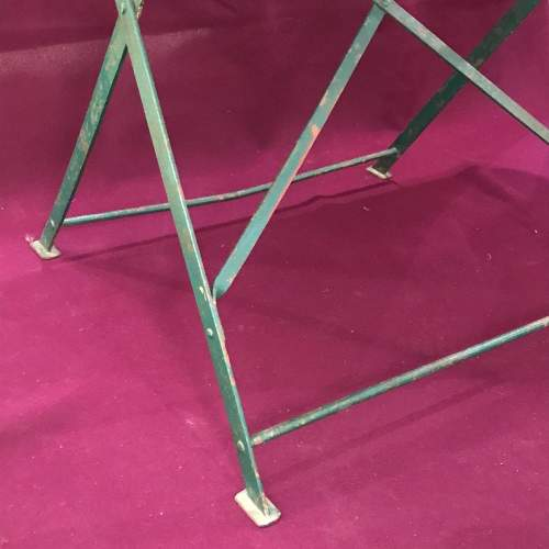 1930s Vintage French Folding Table image-2