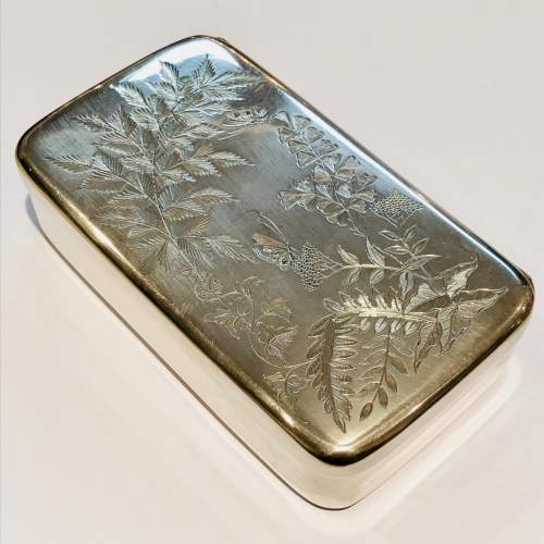 19th Century Silver Plate Sandwich Box image-1
