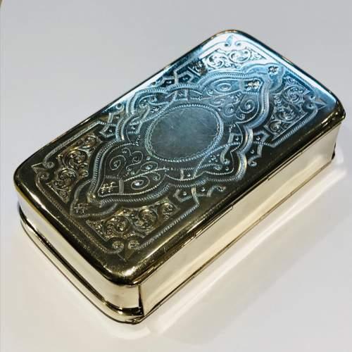19th Century Silver Plate Sandwich Box image-2