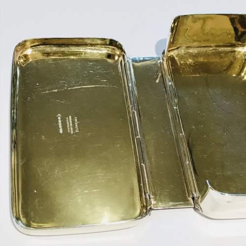 19th Century Silver Plate Sandwich Box image-4