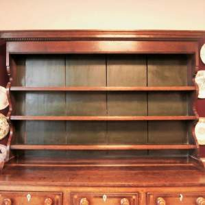 18th Century George III Oak Kitchen Dresser