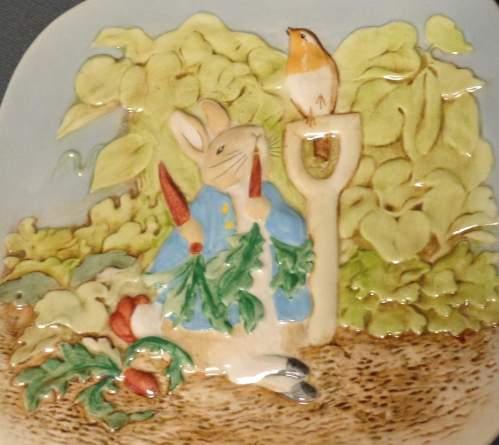 Beswick Plate  -  Peter Rabbit image-5