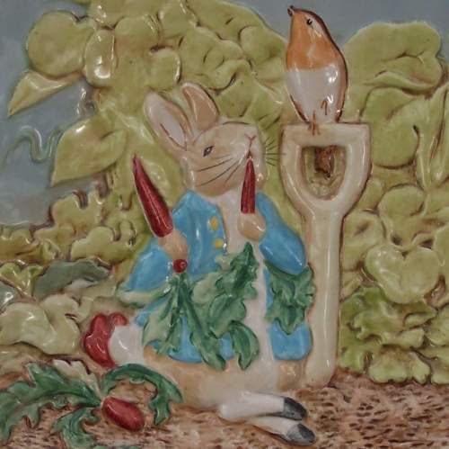 Beswick Plate  -  Peter Rabbit image-6