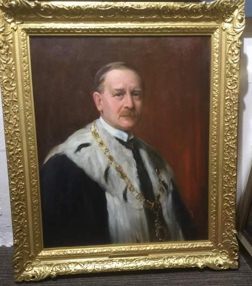 Oil Painting of Henry Archibald by Henry Wright Kerr image-2