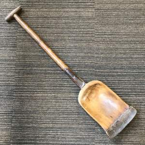 Unusual 19th Century Wooden Fire Sand Shovel