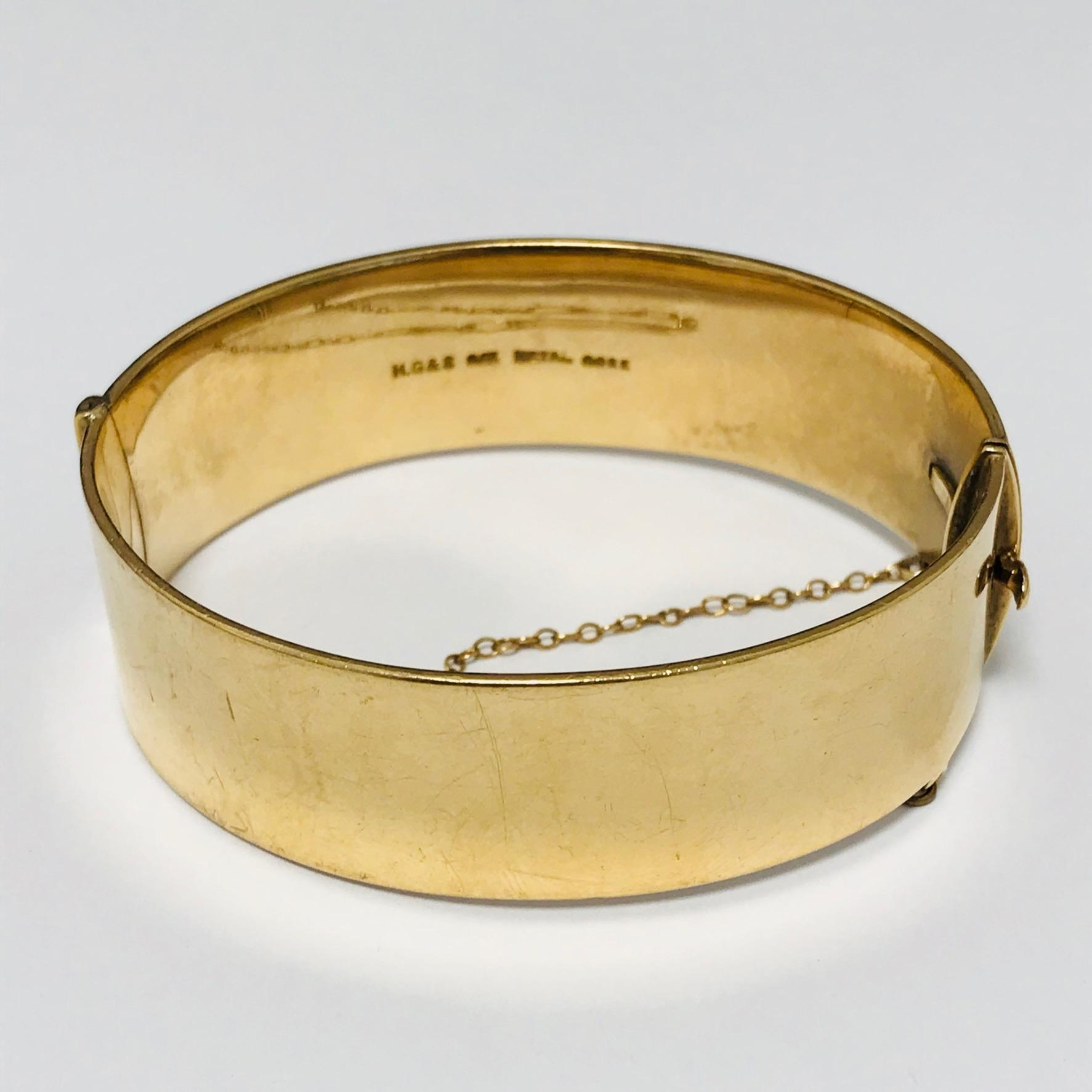 Art Deco Rolled Gold Bracelet Antiques Posted For 163 15