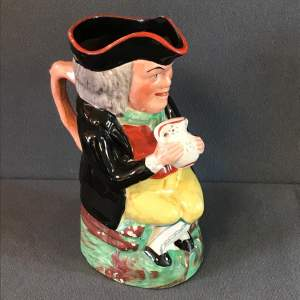 Early 19th Century Staffordshire Toby Jug