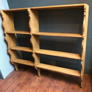 1930s French Country Pine Shelves