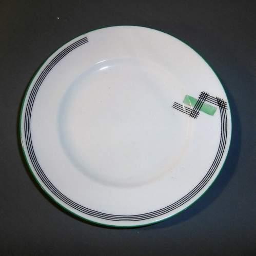 1930s Art Deco Foley China for E Brain Co. Part Tea Set image-5