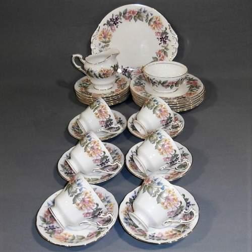 Paragon Bone China Country Lane Tea Set for Six image-1