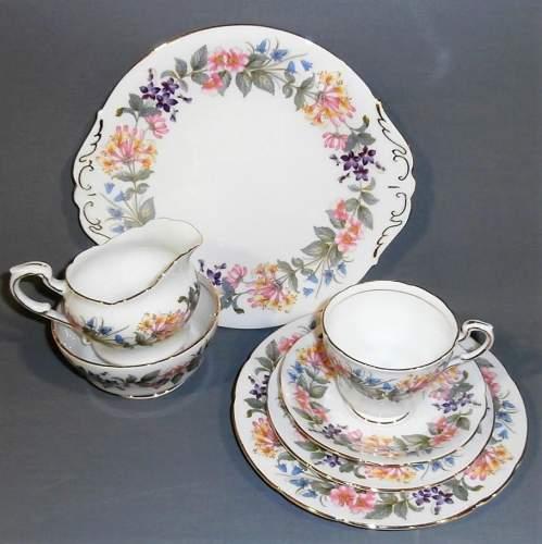 Paragon Bone China Country Lane Tea Set for Six image-2