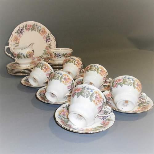 Paragon Bone China Country Lane Tea Set for Six image-6