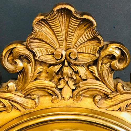 19th Century Giltwood French Mantel Clock image-4