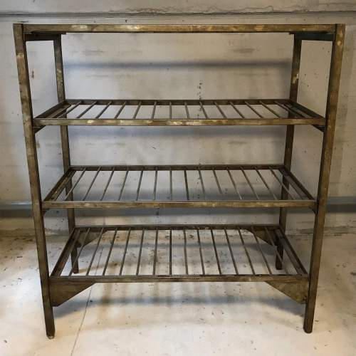 1950s Vintage Industrial Metal Racking image-1