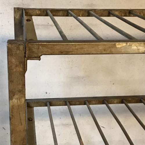 1950s Vintage Industrial Metal Racking image-2