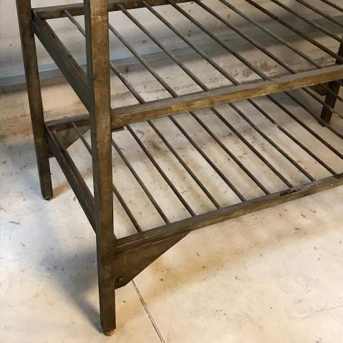 1950s Vintage Industrial Metal Racking image-3