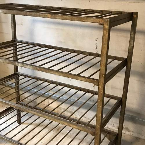 1950s Vintage Industrial Metal Racking image-4