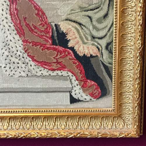 19th Century Tapestry Of Queen Victoria image-6
