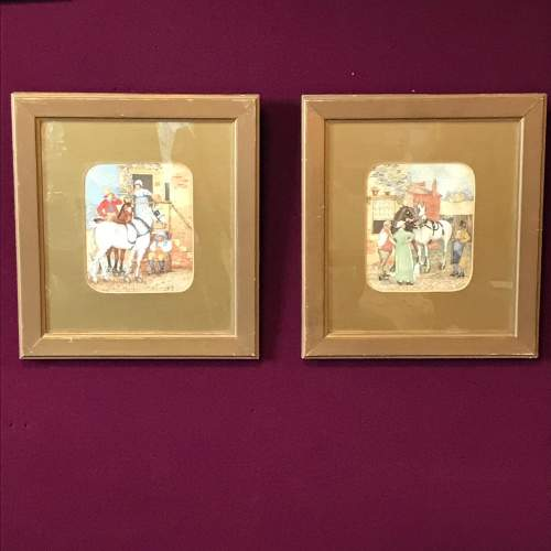Pair of 19th Century English School Watercolours image-1