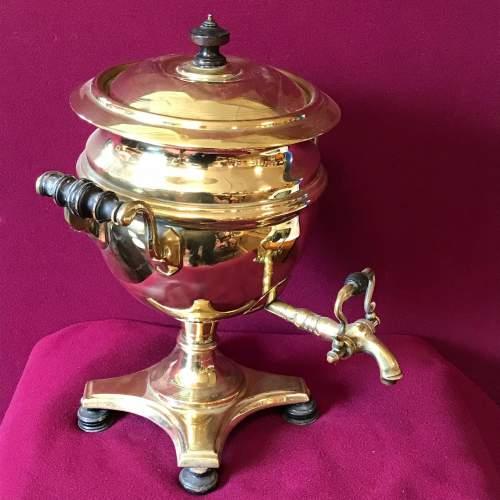 Victorian Brass Samovar image-1