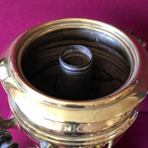 Victorian Brass Samovar image-5
