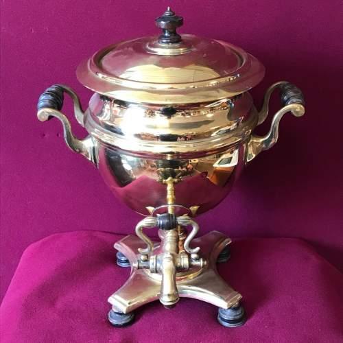 Victorian Brass Samovar image-6