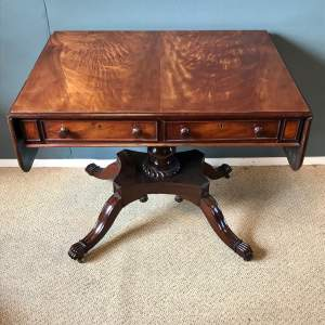 Antique Mahogany Sofa Table