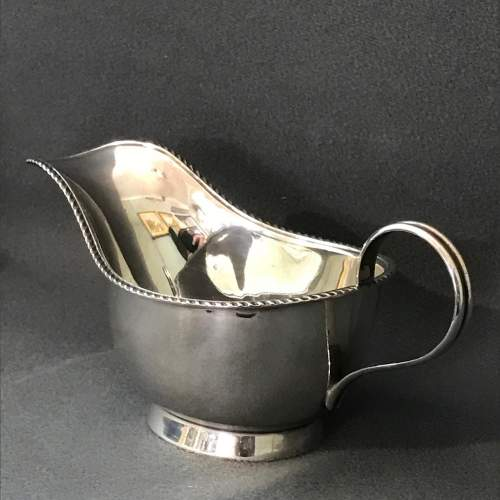 Silver Sauce Boat image-1