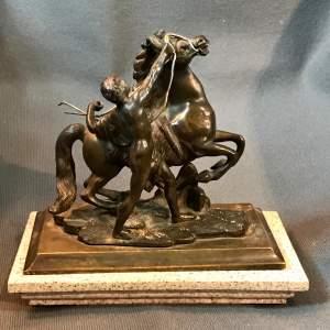 Classical Bronze Figure Group