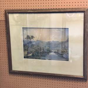 Victorian Watercolour by William Taylor Longmire