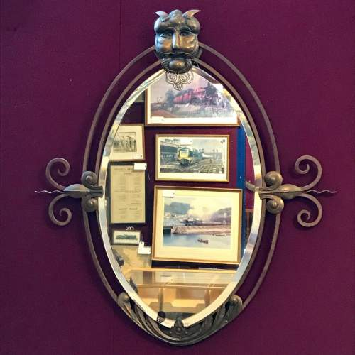 Gothic Revival late 19th Century Wall Mirror image-1