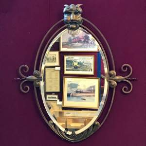 Gothic Revival late 19th Century Wall Mirror