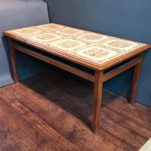 Scandinavian Retro Teak Coffee Table