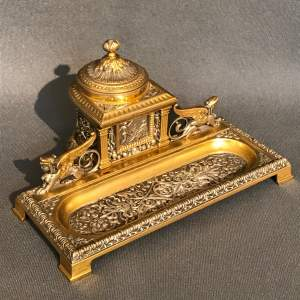 Fine Quality Italian Pen and Ink Stand