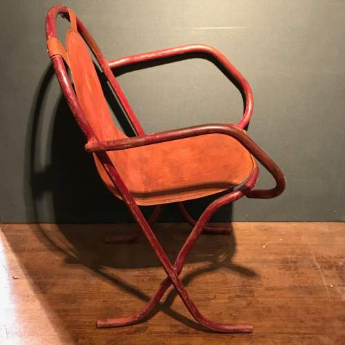 Pair Of Stak A Bye Industrial Chairs image-2