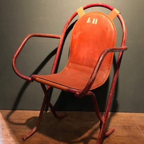 Pair Of Stak A Bye Industrial Chairs image-3