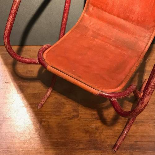 Pair Of Stak A Bye Industrial Chairs image-5