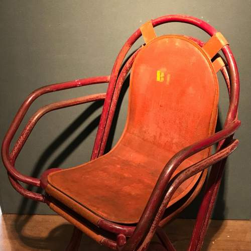 Pair Of Stak A Bye Industrial Chairs image-6