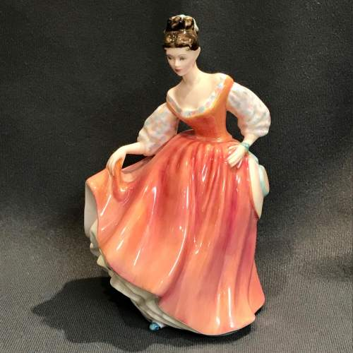 Royal Doulton Fair Lady Figure by Peggy Davies image-1