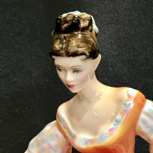 Royal Doulton Fair Lady Figure by Peggy Davies image-3