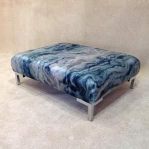 1.0008 - Large marble effect footstool.JPG