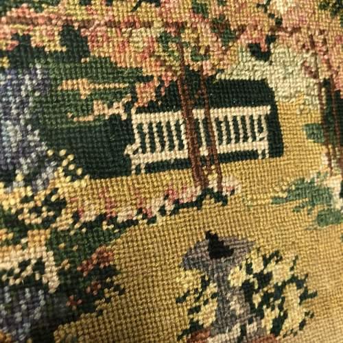 Fine Embroidered Picture Circa 1920 image-2