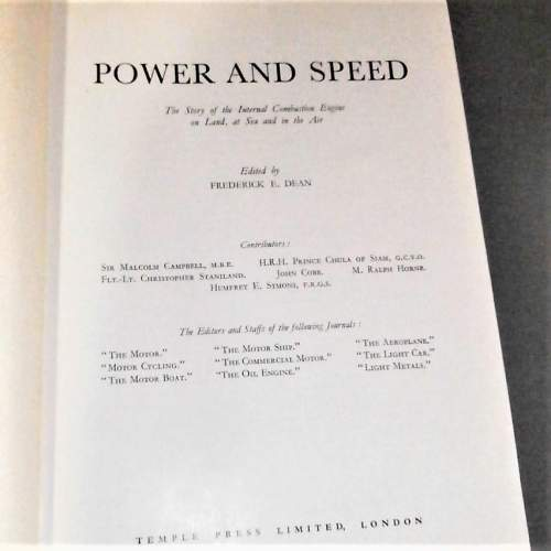 Power and Speed. Story of the Internal Combustion Engine. 1938 image-2